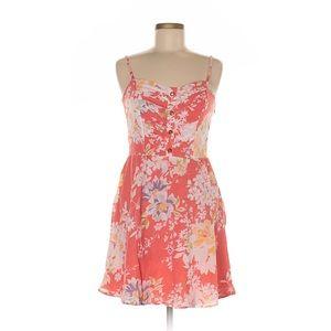Lauren Conrad Cotton Floral Dress